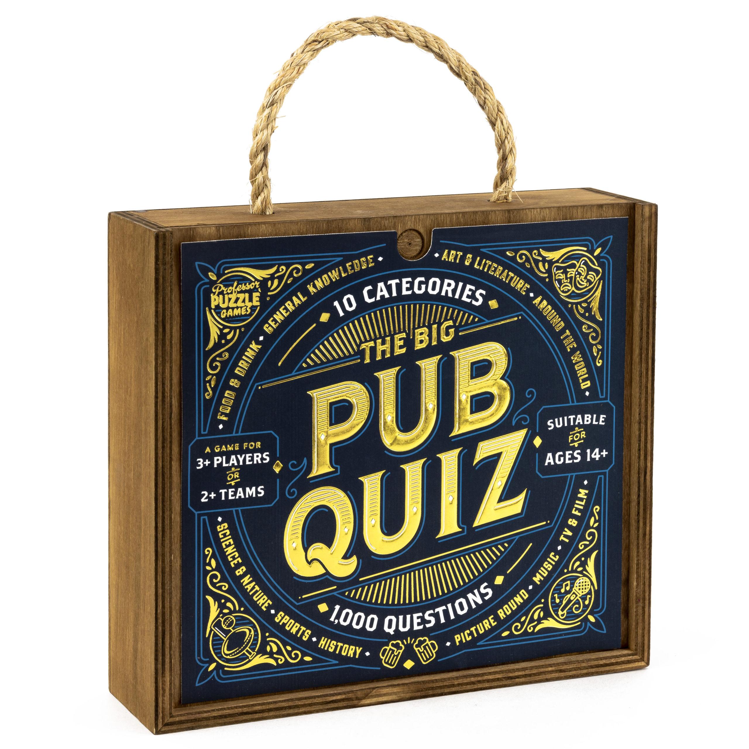 The Big Pub Quiz   Professor Puzzle