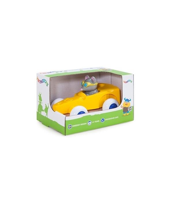 Jucarie - Masina Cascaval cu figurina soricel | Viking Toys