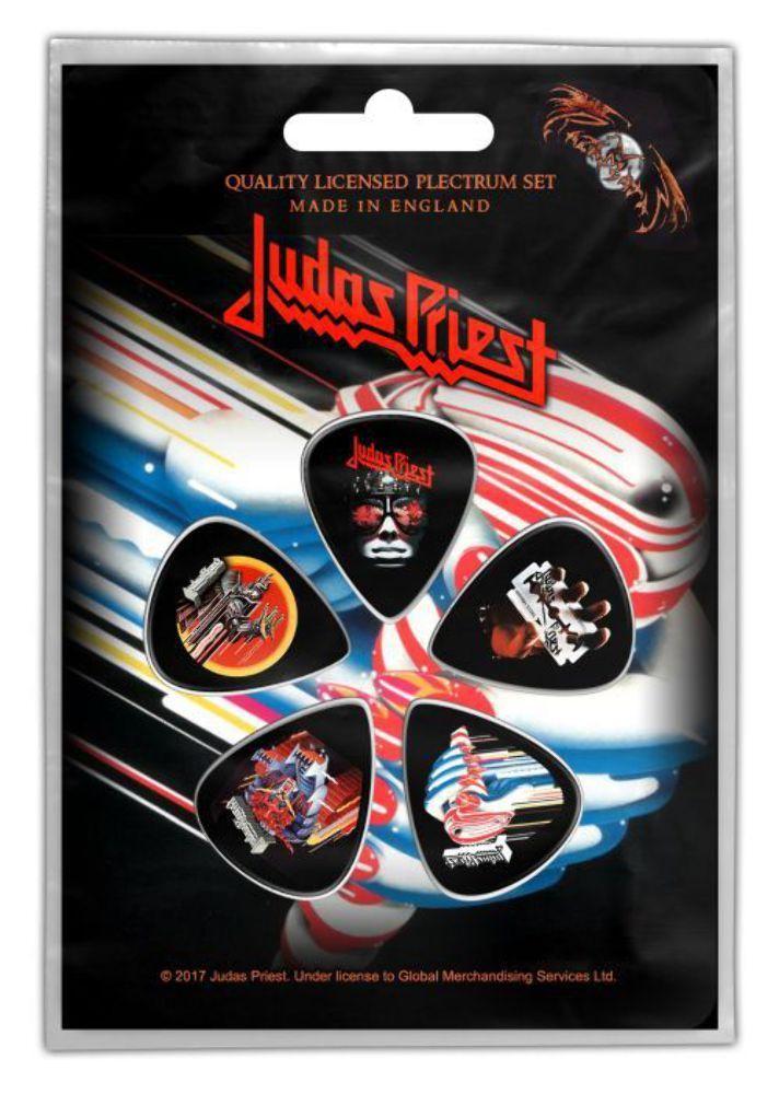Set 5 pene pentru chitara - Judas Priest Turbo Plectrum Pack thumbnail