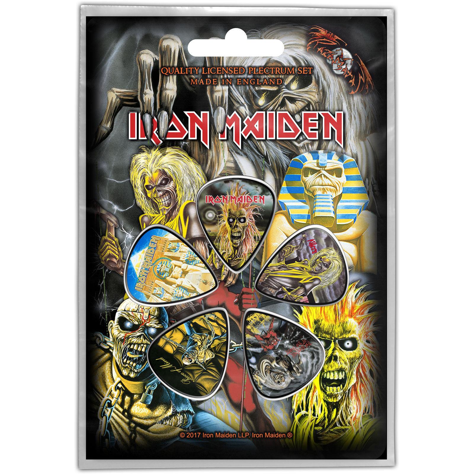 Set 5 pene pentru chitara - Iron Maiden - Faces of Eddie thumbnail