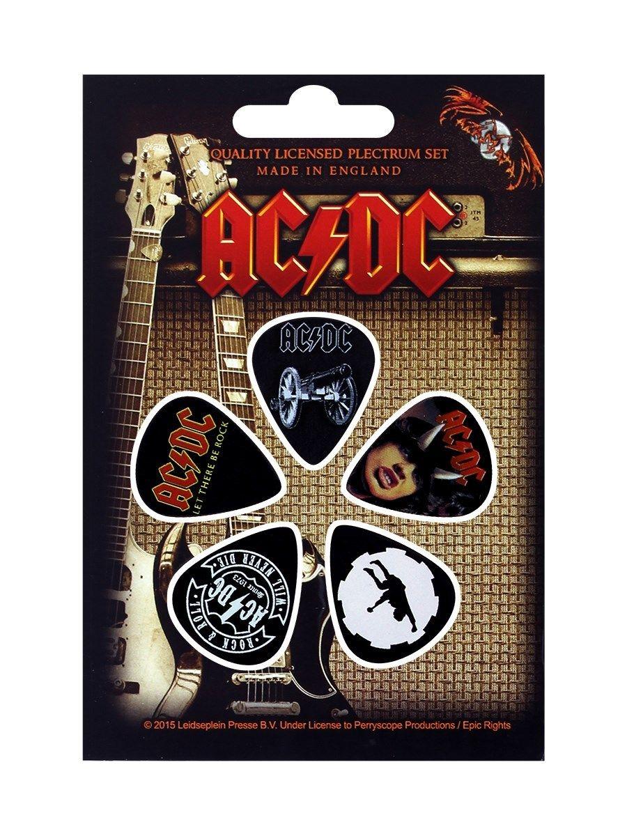 Set 5 pene pentru chitara - AC/DC thumbnail