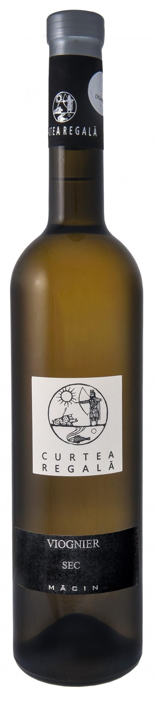 Vin alb - Curtea Regala Viognier, 2015, sec Vinuri de Macin