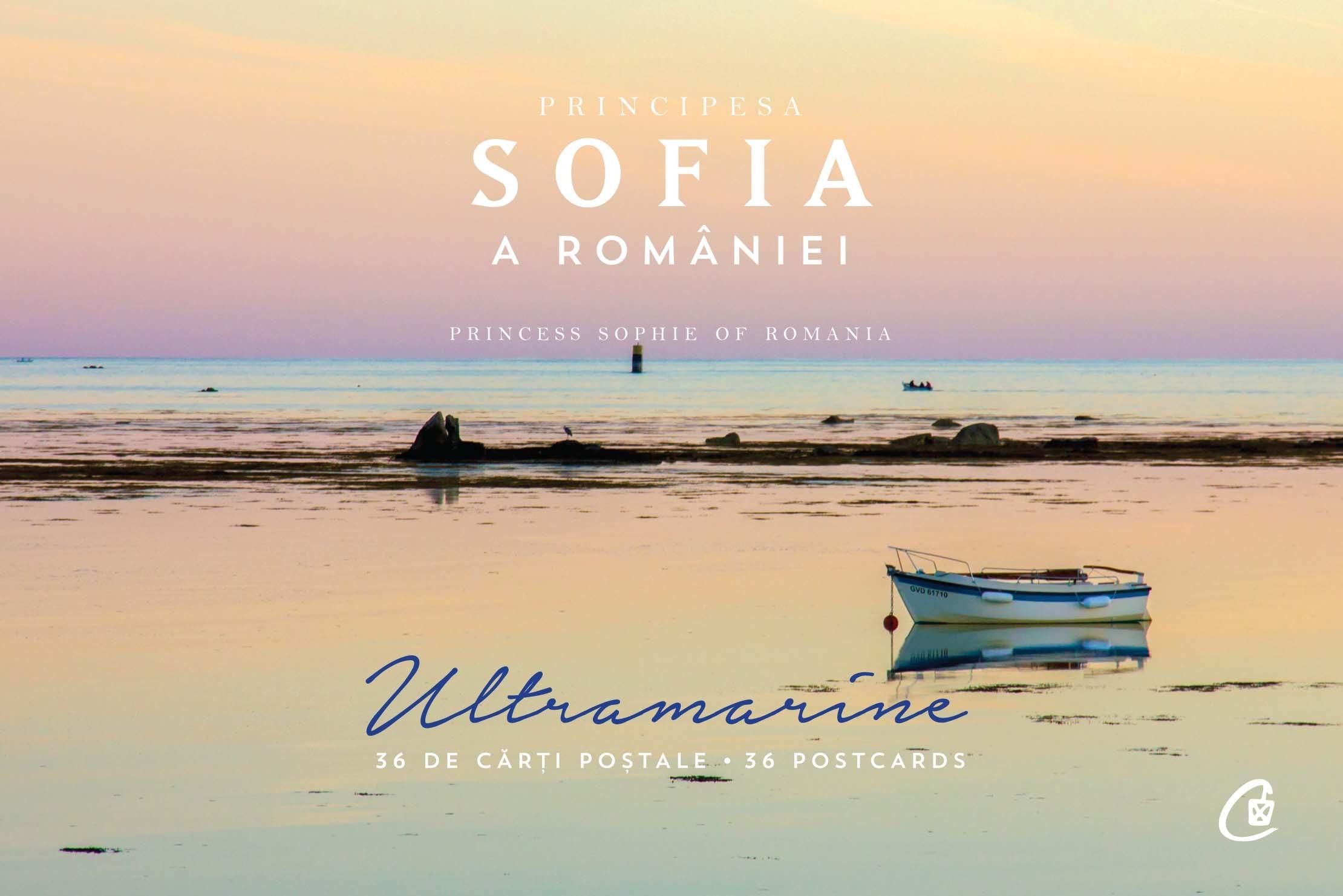 Principesa Sofia a Romaniei - Ultramarine, 36 carti postale