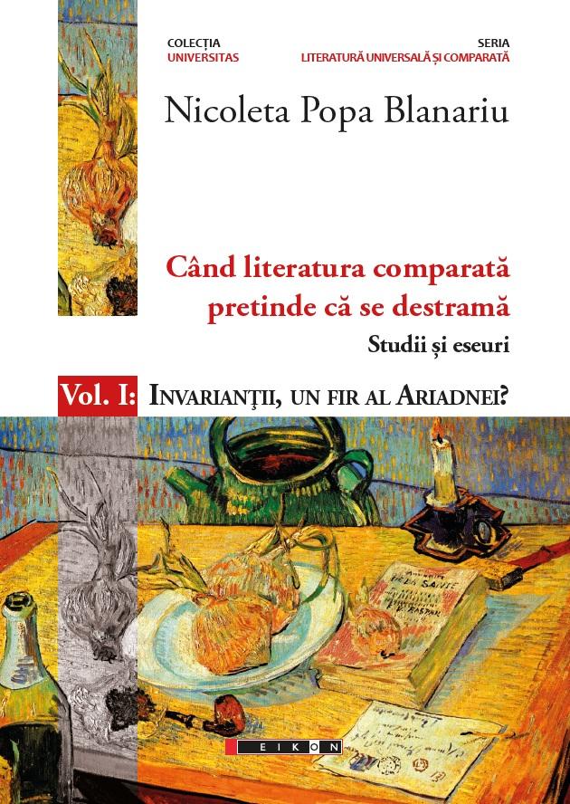 Imagine Cand Literatura Comparata Pretinde Ca Se Destrama - Studii Si Eseuri