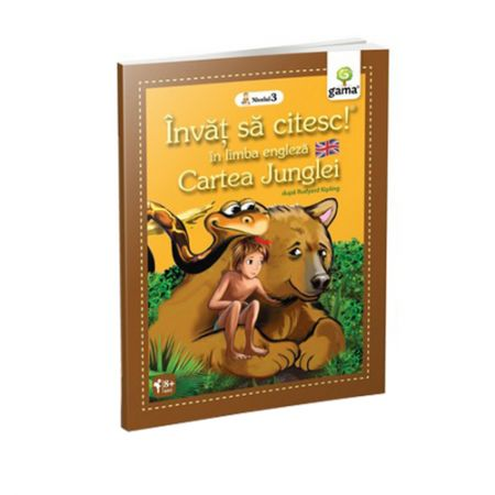 Cartea Junglei - Invat sa citesc in limba engleza! Nivelul III |