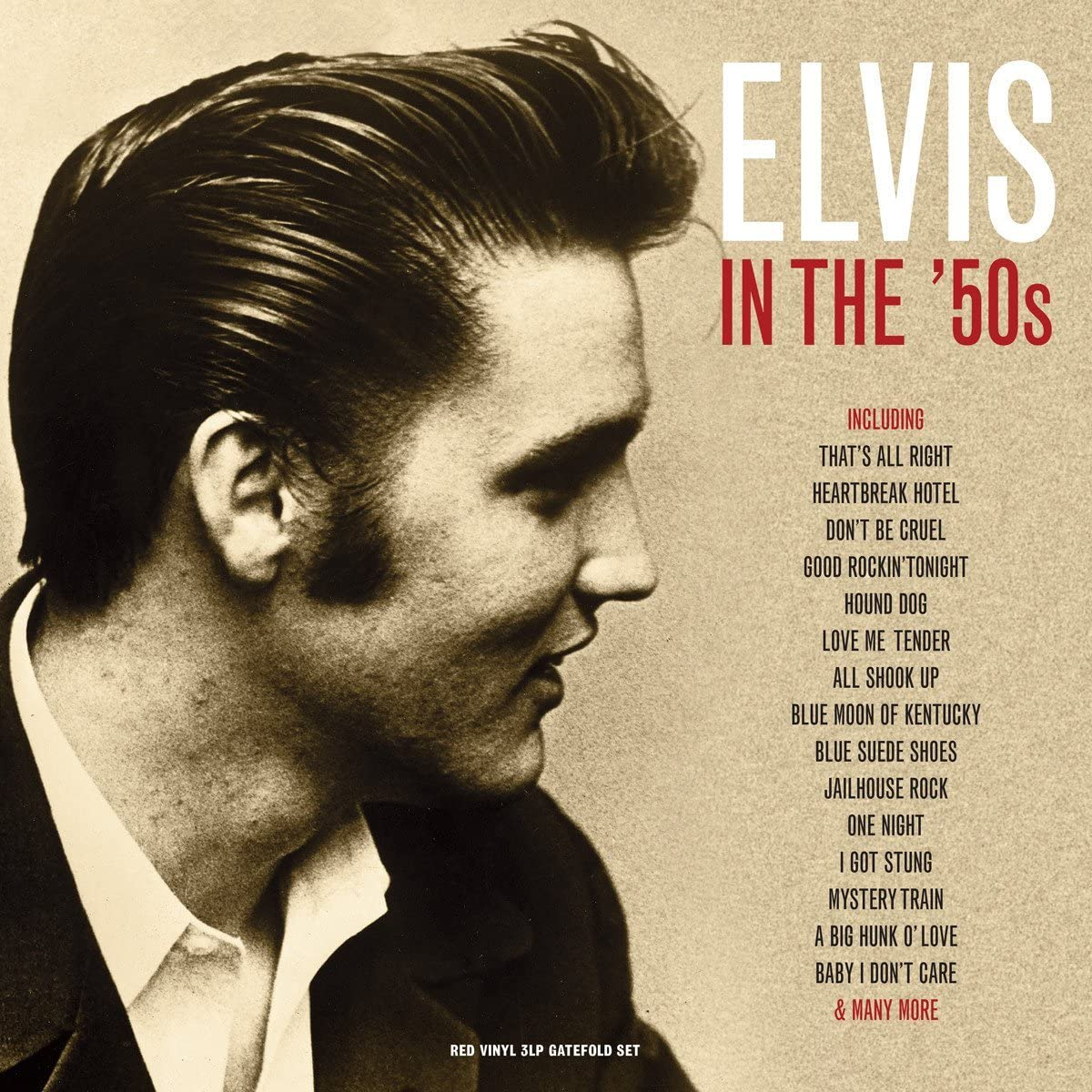 Elvis In The '50s - Red Vinyl