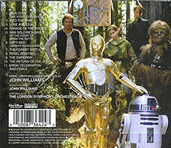 Star Wars - Return Of The Jedi (The Original Motion Picture Soundtrack) thumbnail