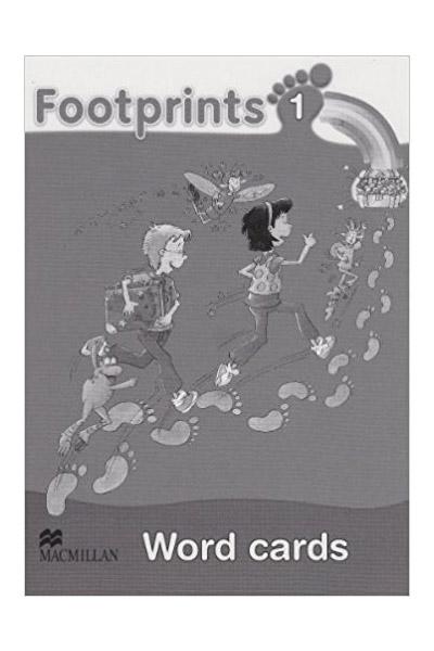 Footprints 1 Word Cards