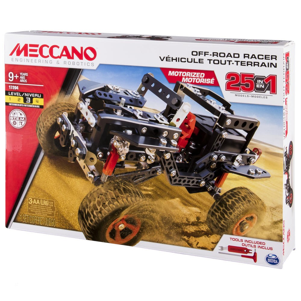 Jucarie - Meccano 25 in 1 - Road Rally Jeep Racer thumbnail