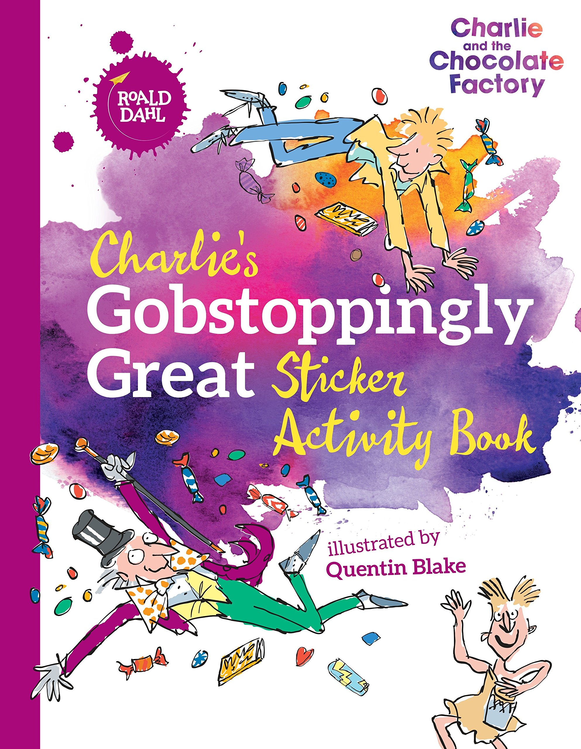 Charlie's Gobstoppingly Great Sticker Activity Book thumbnail