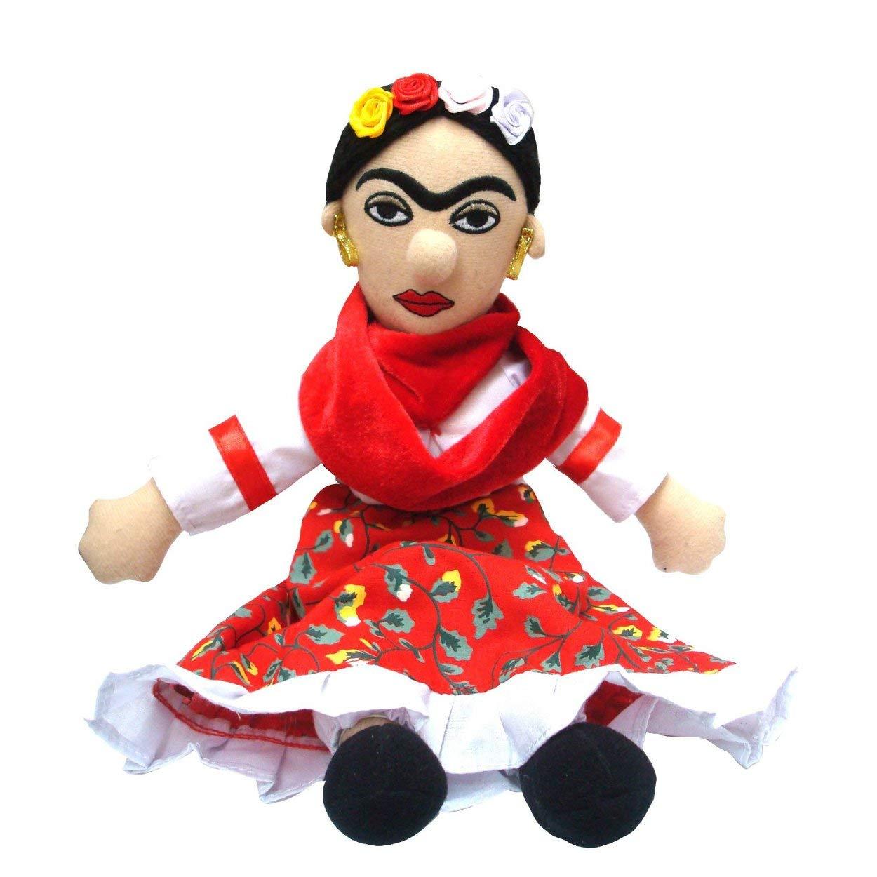 Jucarie de plus - Little Thinkers Doll: Frida Kahlo thumbnail