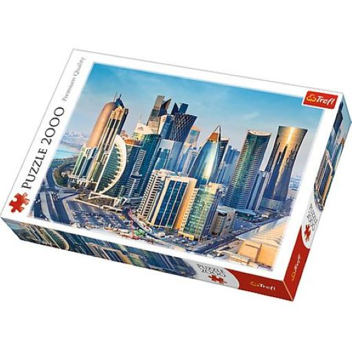 Puzzle 2000 piese - Doha Qatar | Trefl
