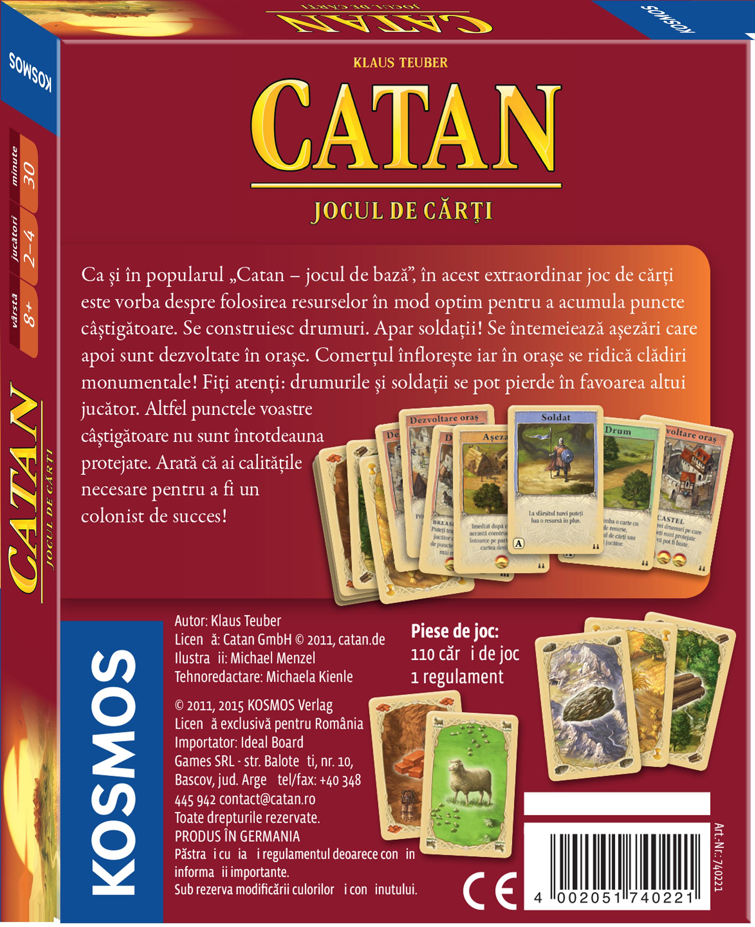 Colonistii din Catan - Jocul de carti | Kosmos - 1