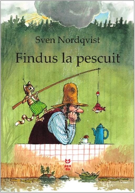 Imagine Findus La Pescuit - Sven Nordqvist