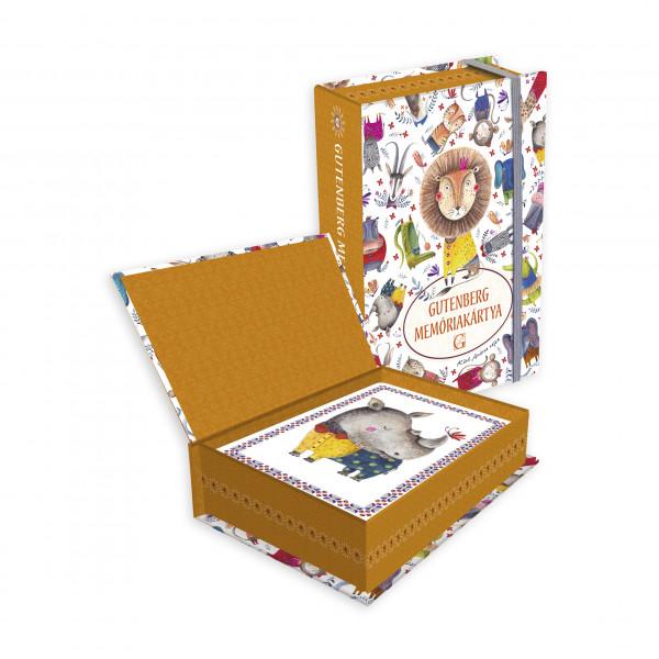 Carti de memorie / Animale salbatice | Gutenberg Books