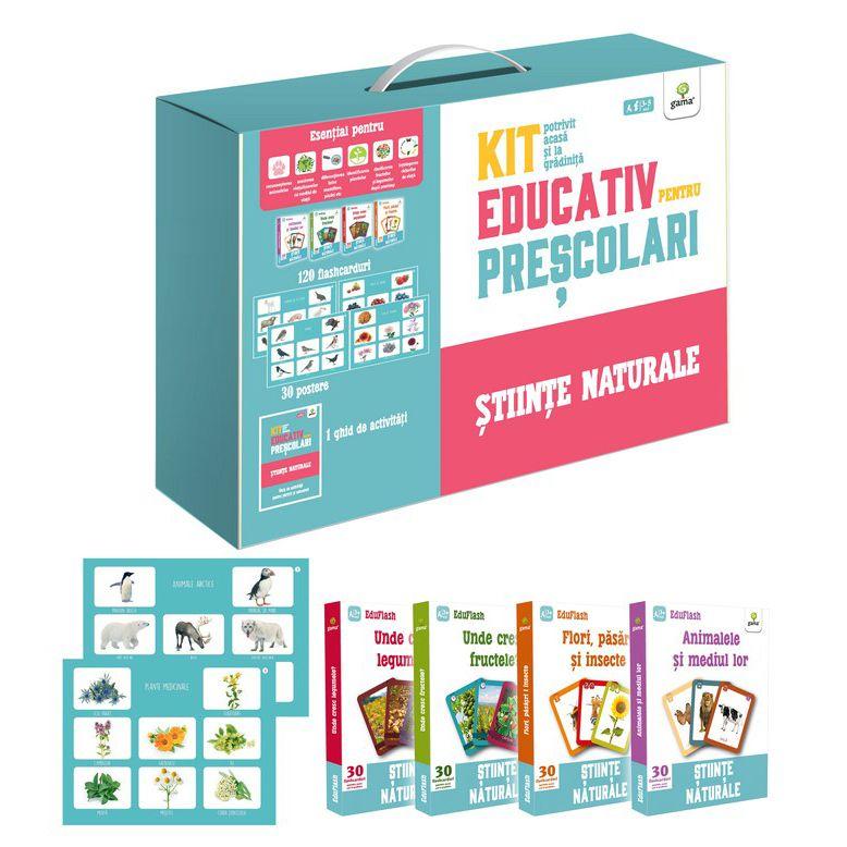 Kit educativ pentru prescolari. Stiinte naturale |
