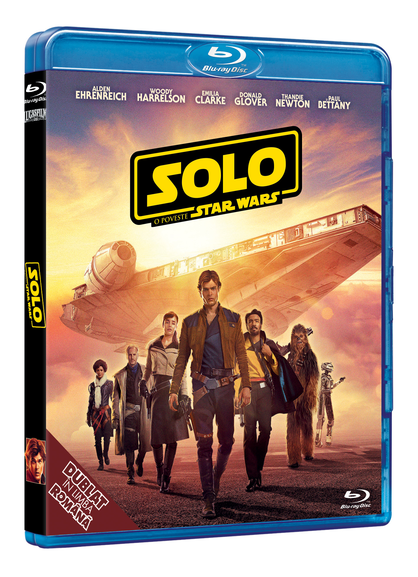 Solo: O poveste Star Wars (Blu Ray Disc) / Solo: A Star Wars Story thumbnail