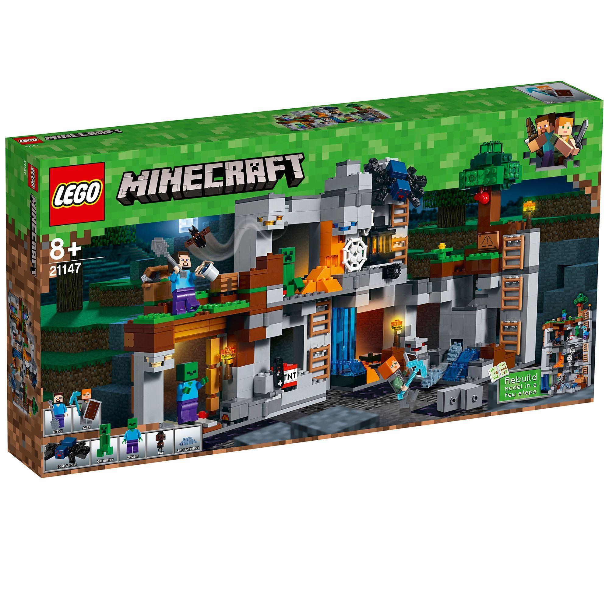 Jucarie - Lego Minecraft: Aventurile din Bedrock thumbnail