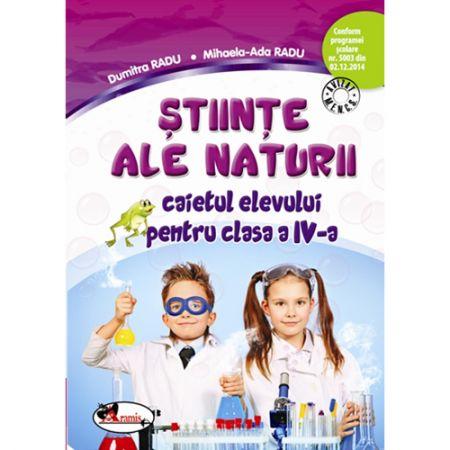 Caiet Stiinte ale Naturii. Clasa a IV-a