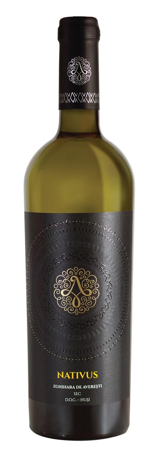 Vin alb - Nativus Aligote de Averesti, sec 2015 Crama Averesti