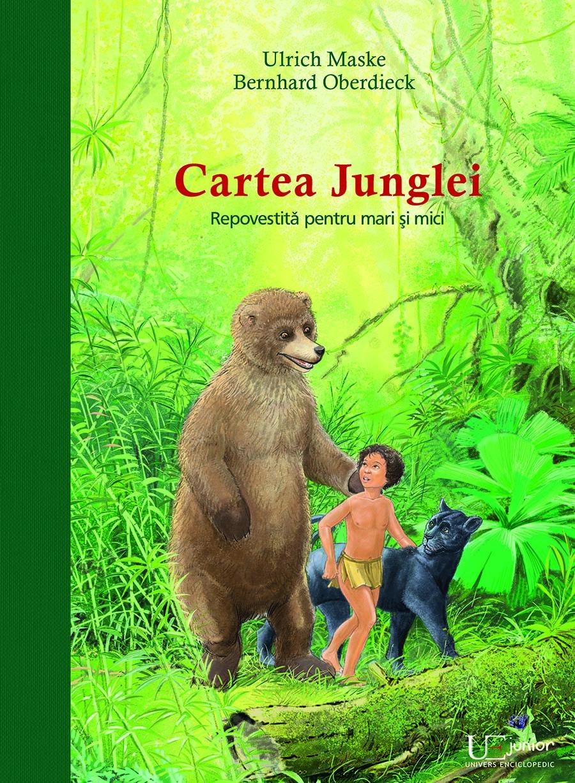 Imagine Cartea Junglei - Repovestita Pentru Mari Si Mici - Ulrich Maske, Bernhard