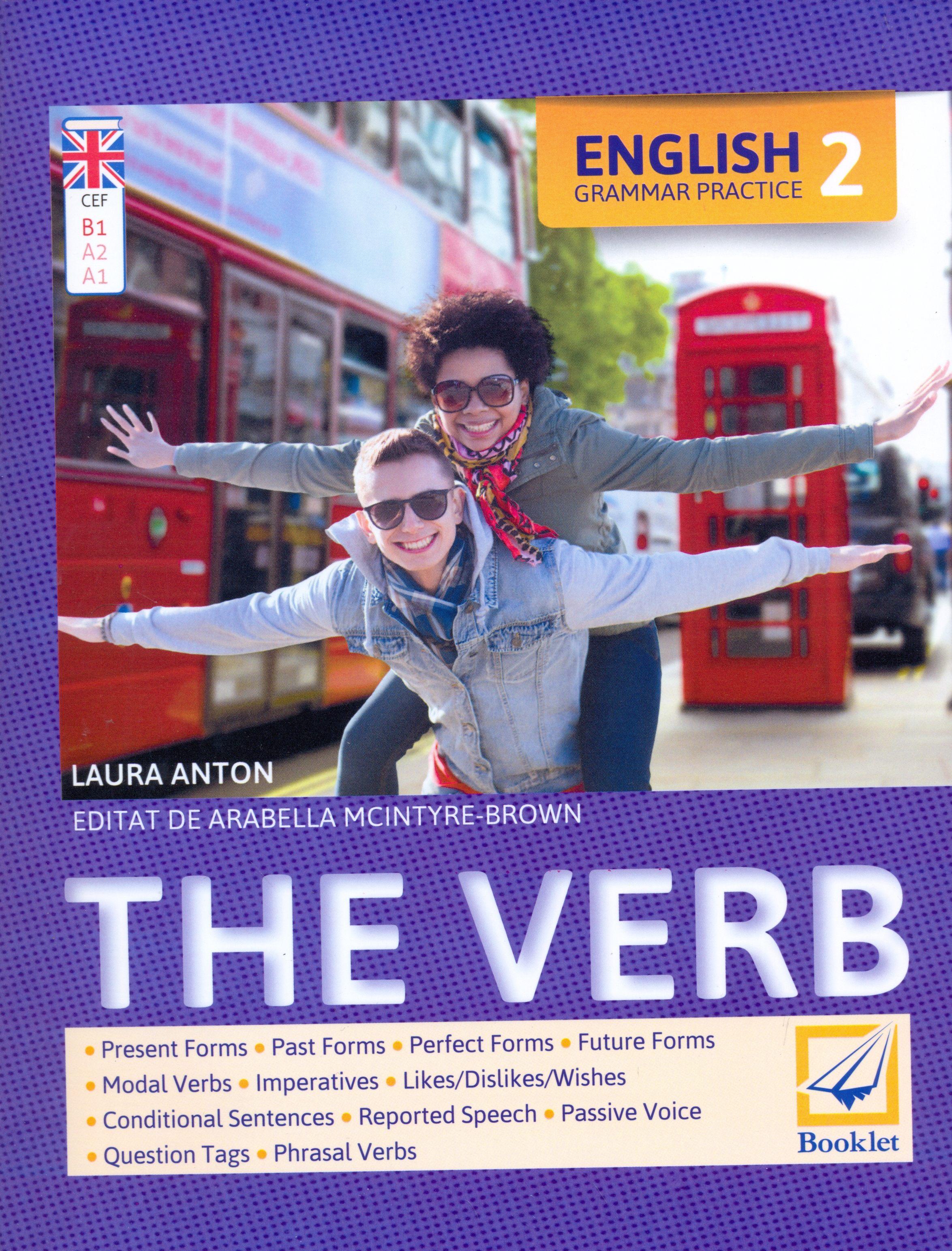 Imagine English Grammar Practice 2 - The Verb - Laura Anton