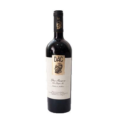 Vin rosu - Dac Reserve, 2015, sec Vinaria Dac