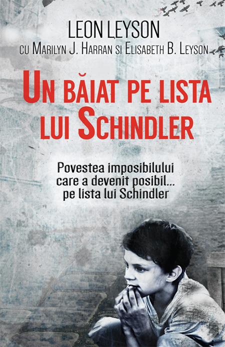 Imagine Un Baiat Pe Lista Lui Schindler - Leon Leyson