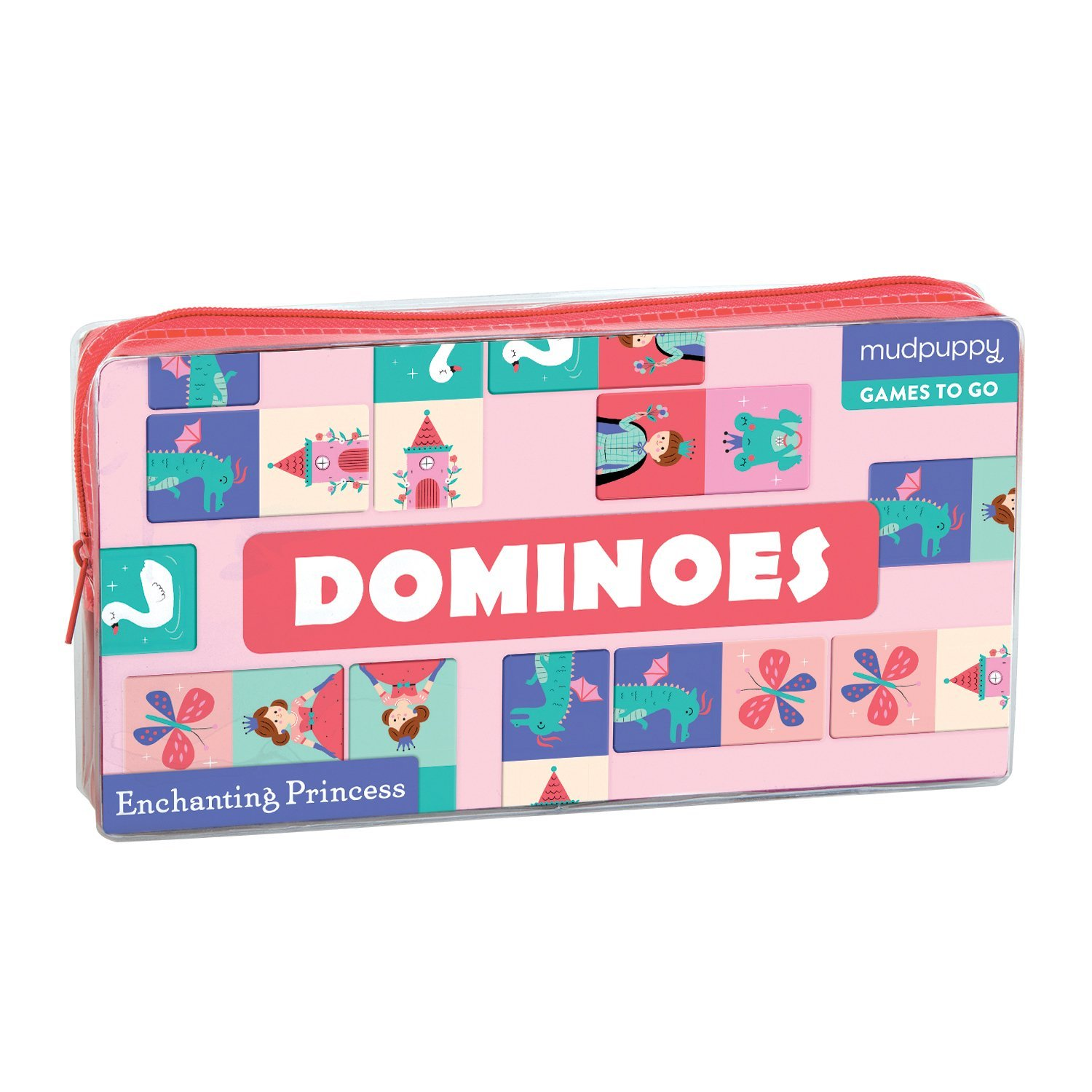 Joc - Games to go - Dominoes Enchanting Princess | Mudpuppy