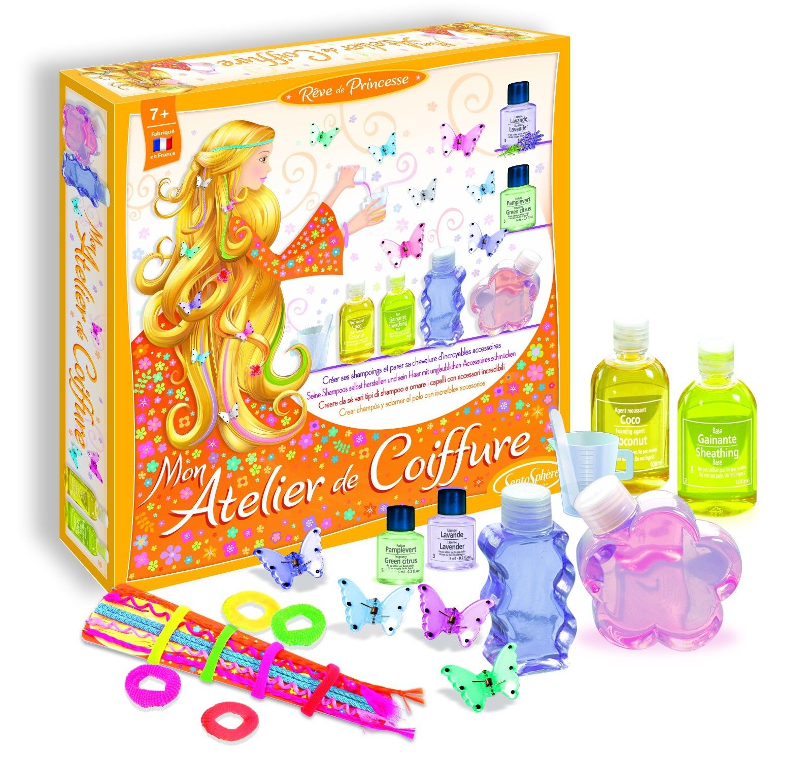Set de coafor pentru copii - Mon Atelier de Coiffure thumbnail