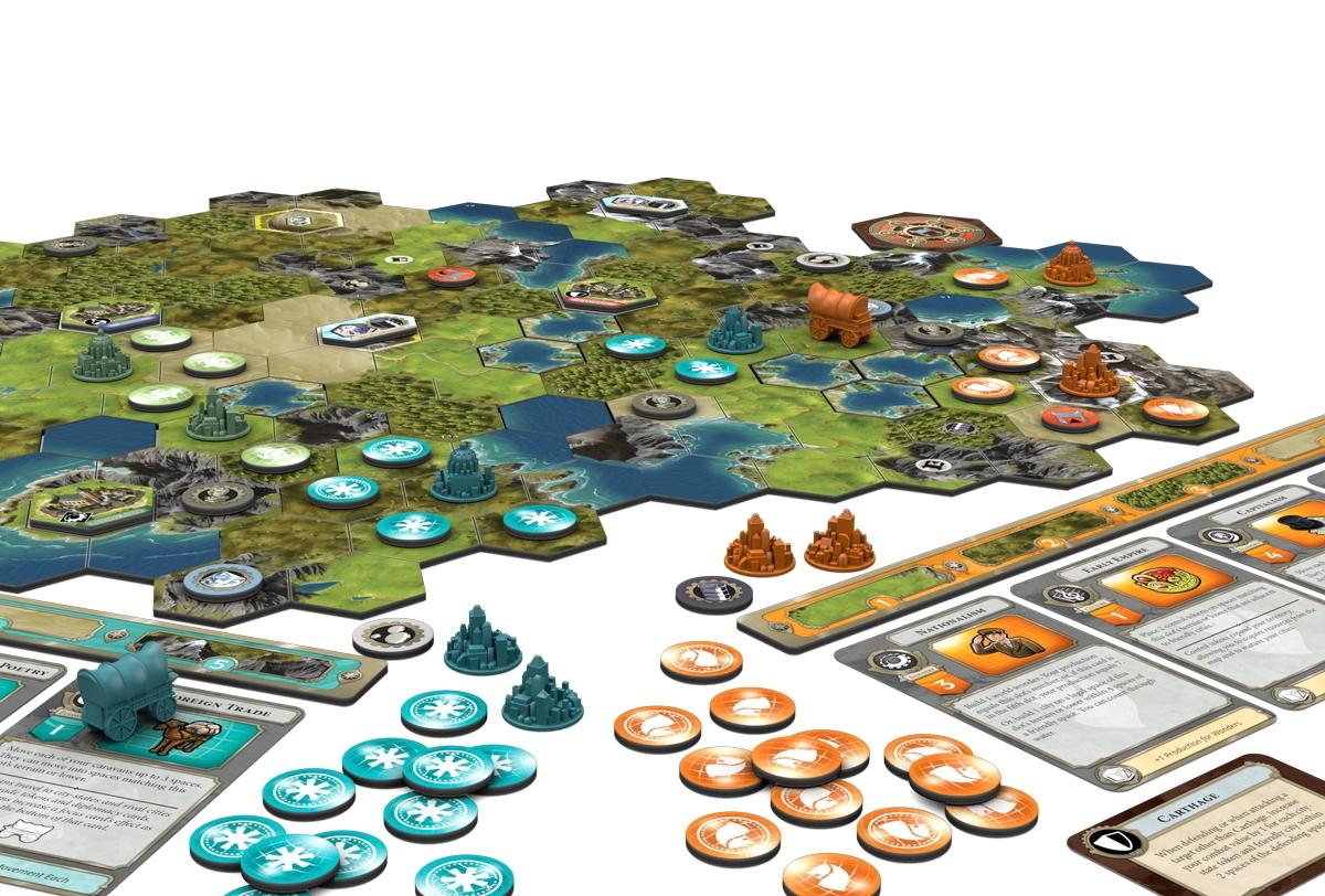 Sid Meier's Civilization: A New Dawn | Fantasy Flight Games
