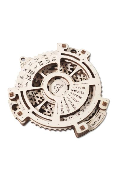 Puzzle 3D - Calendar Mecanic | UGears