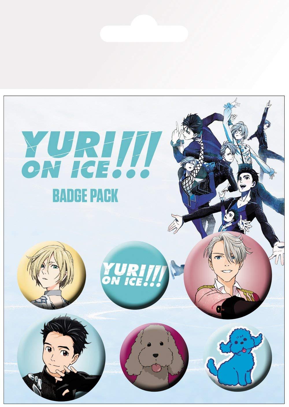 Set 6 insigne - Yuri on ice mix thumbnail