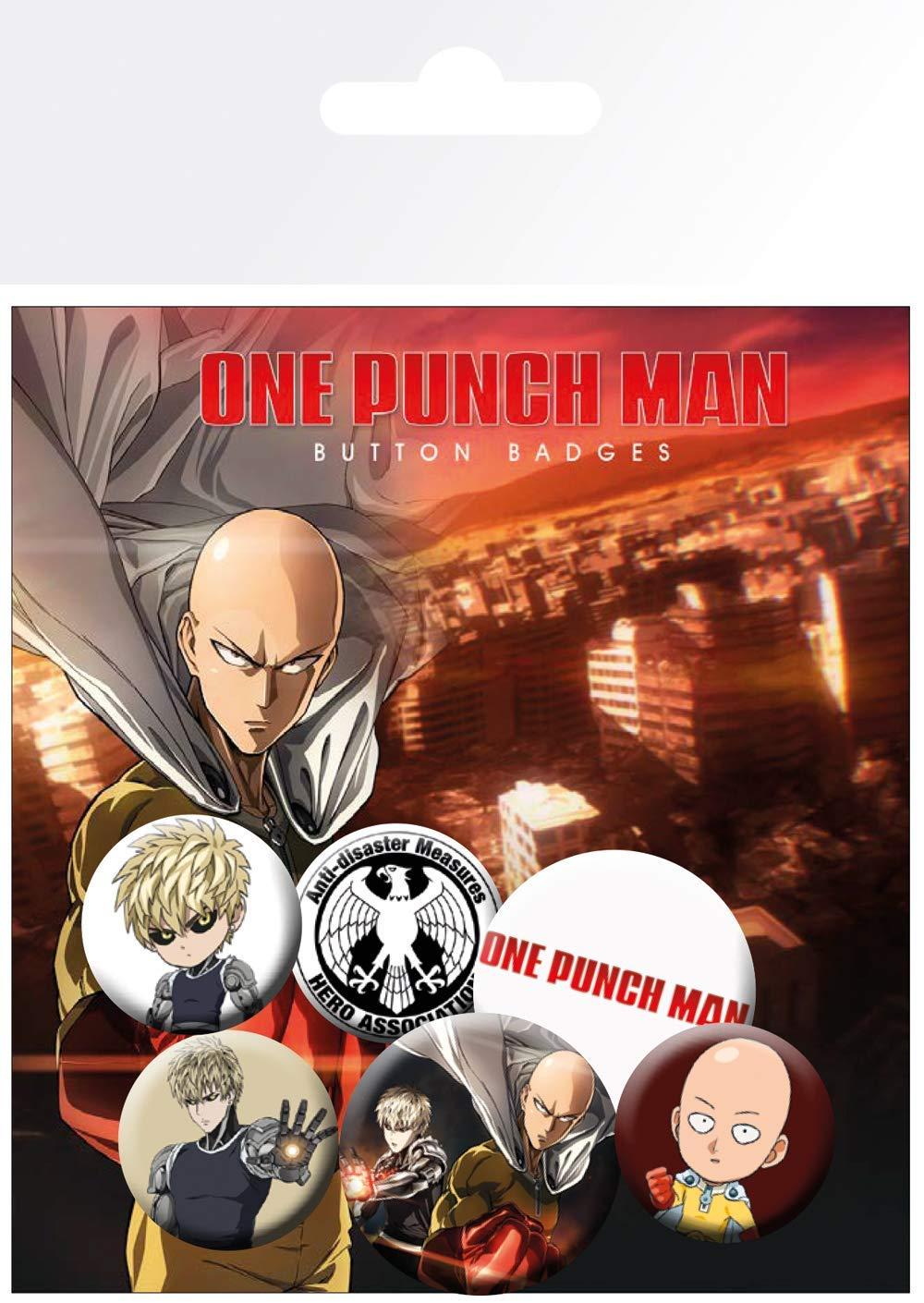 Set 6 insigne - One punch man thumbnail