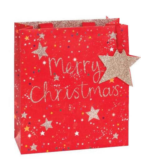 Punga cadou - Merry Christmas Stars thumbnail