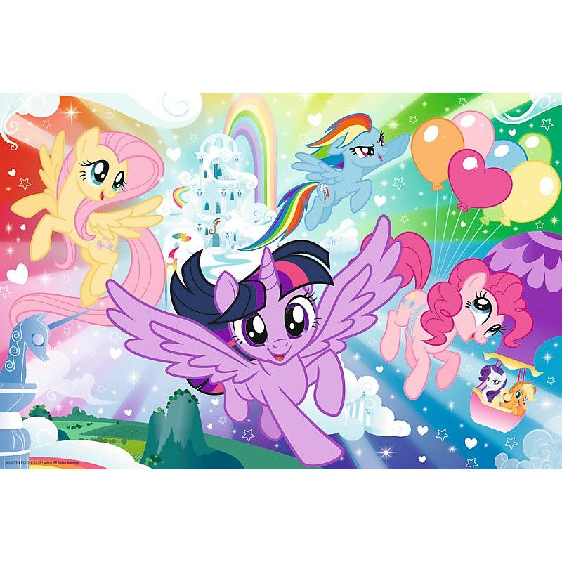 Puzzle - My Little Pony Adventure Flight | Trefl