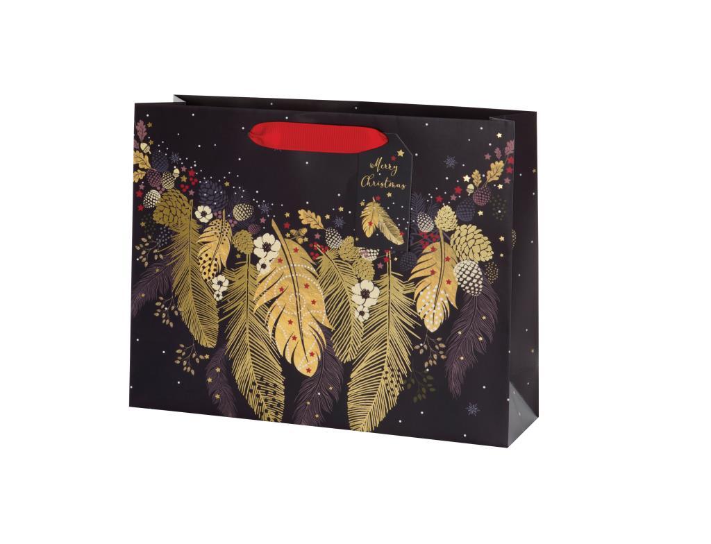 Punga pentru cadou - Feathers Merry Christmas thumbnail