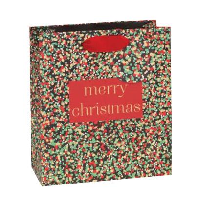 Punga cadou - Merry Christmas Confetti thumbnail