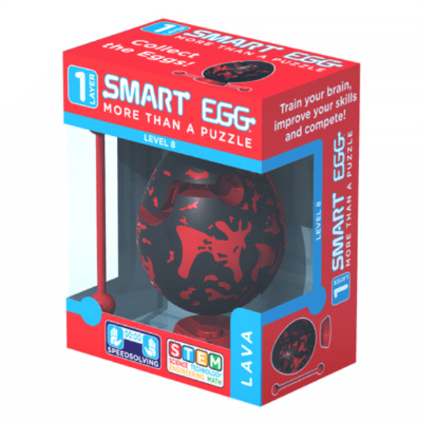 Jucarie - Smart Egg (Lava) thumbnail