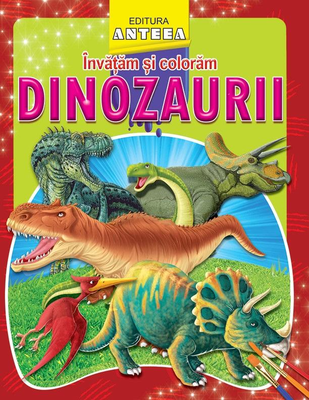 Invatam si coloram- Dinozaurii