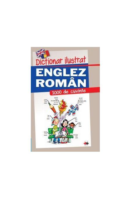 Imagine Dictionar Ilustrat Englez-roman -