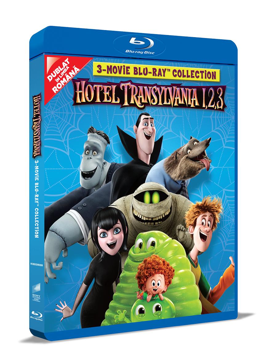 Colectia completa Hotel Transilvania 1-3 (Blu Ray Disc) / Hotel Transylvania 1-3 thumbnail