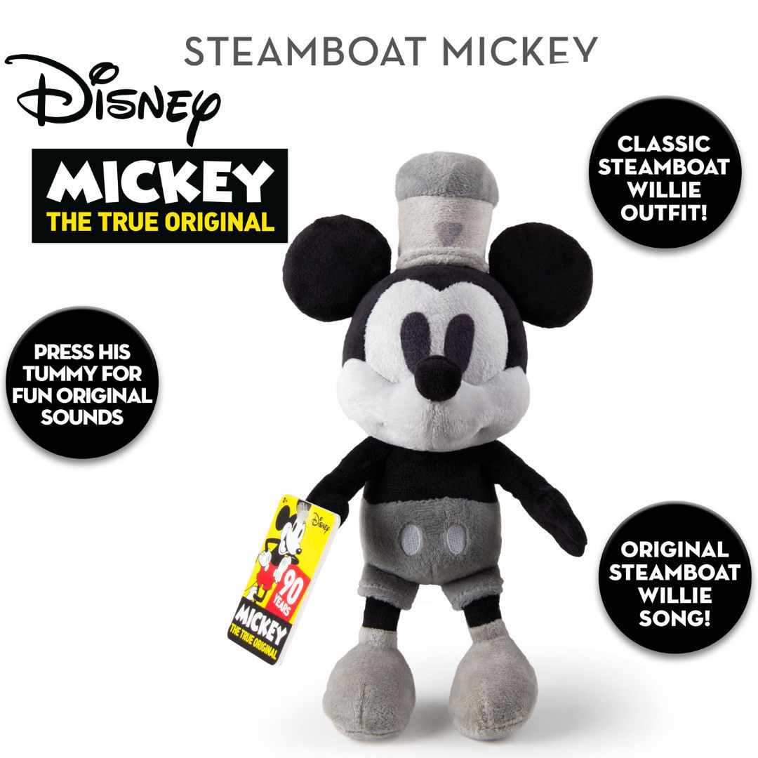 Jucarie de plus - Steamboat Willie Mickey Aniversar | IMC