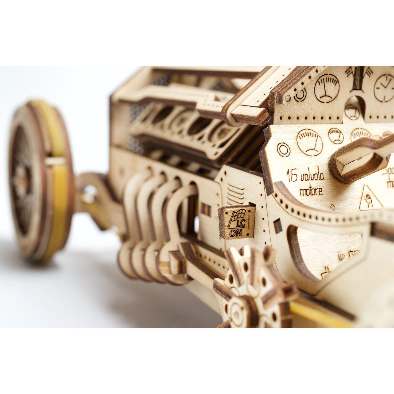 Puzzle 3D - Masina U-9 Grand Prix | Ugears