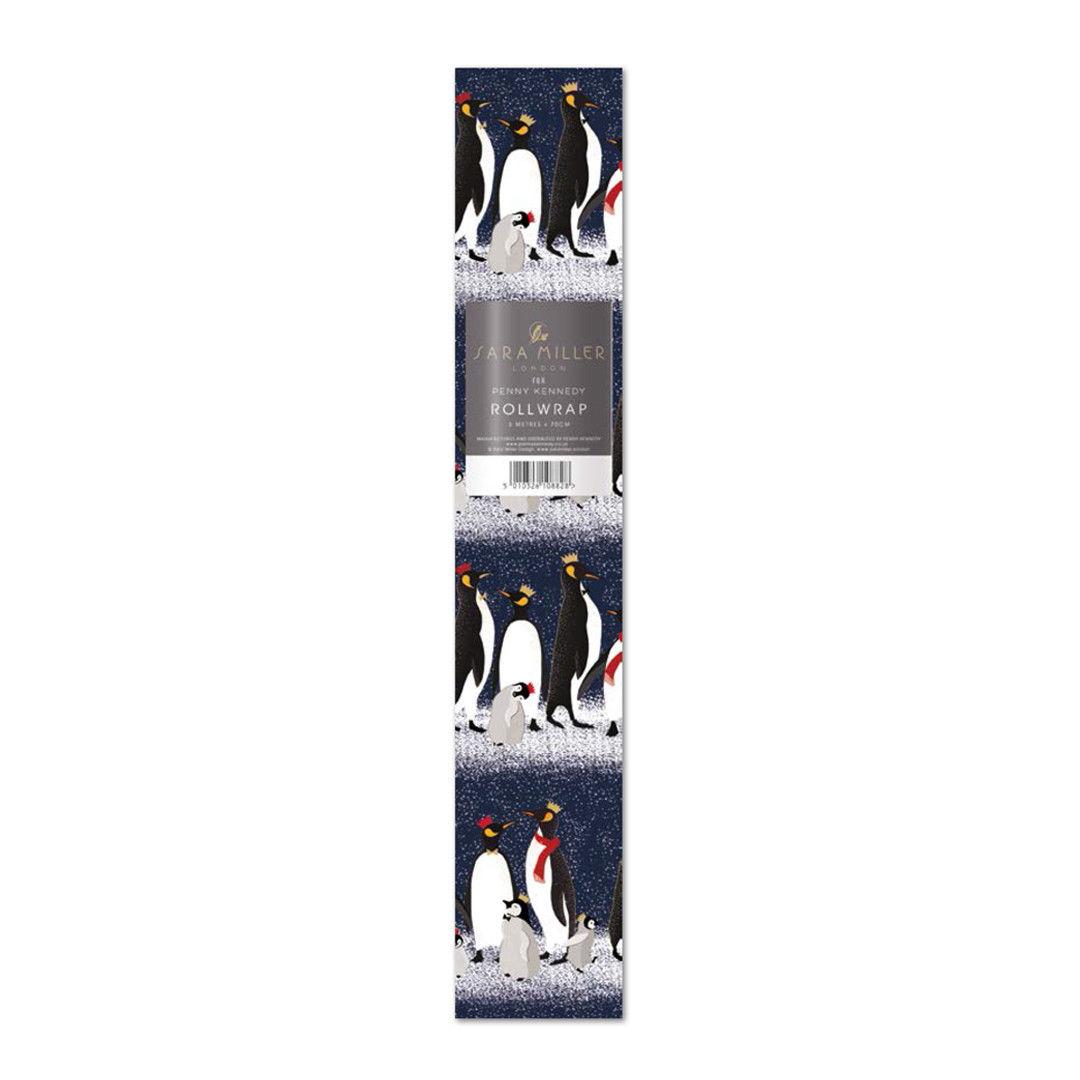Hartie de impachetat - Penguins Christmas thumbnail