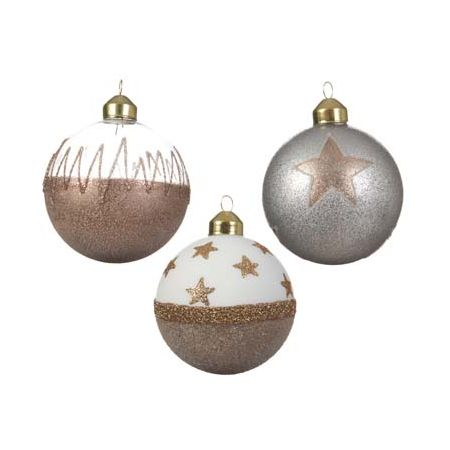 Glob decorativ - Glitter Bauble - mai multe modele thumbnail