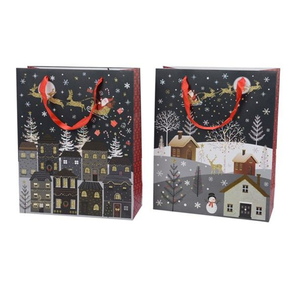 Punga pentru cadou - Village Christmas thumbnail