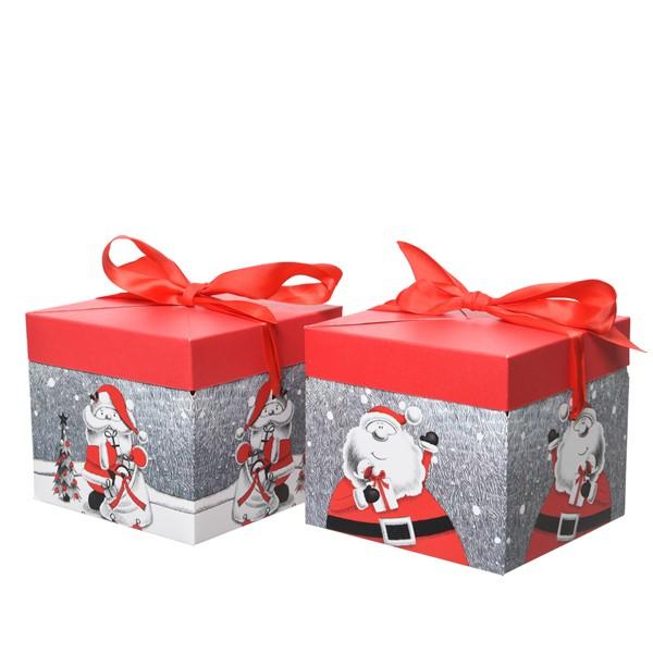 Cutie pentru cadou - Santa Classic - mai multe modele thumbnail