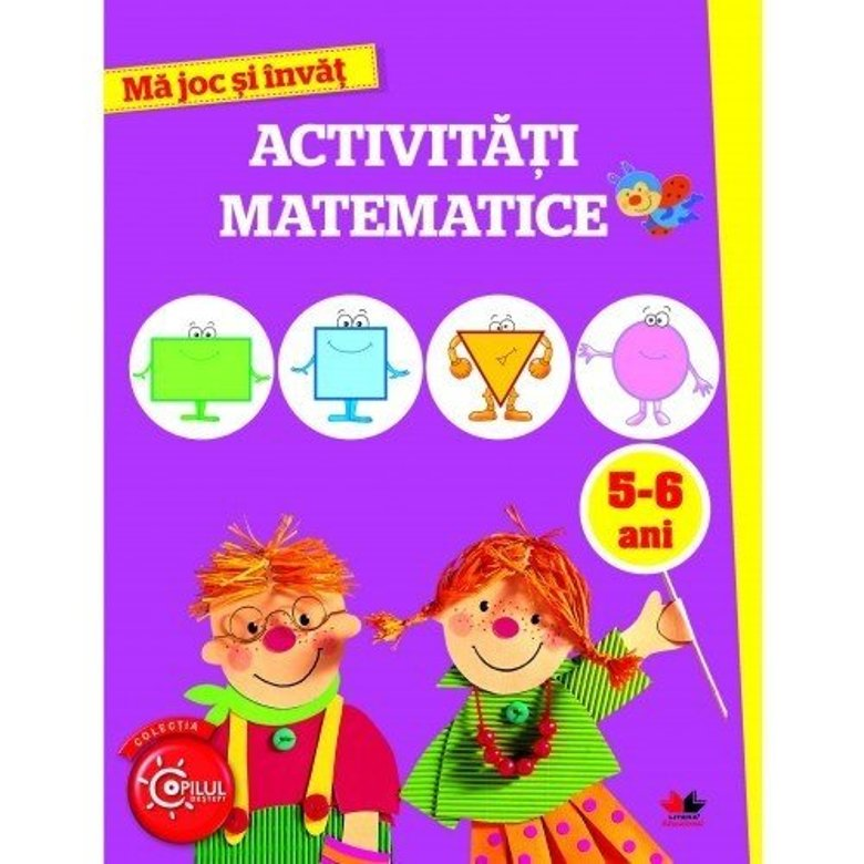 Ma joc si invat. Activitati matematice. 5-6 ani |