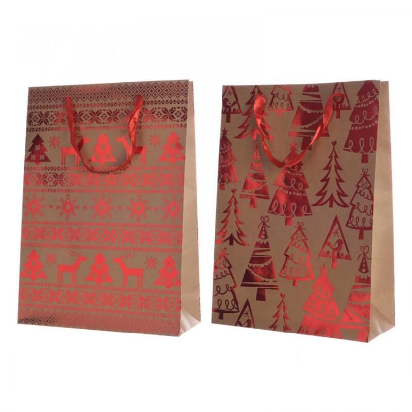 Punga pentru cadou - Christmas Craf - mai multe modele thumbnail